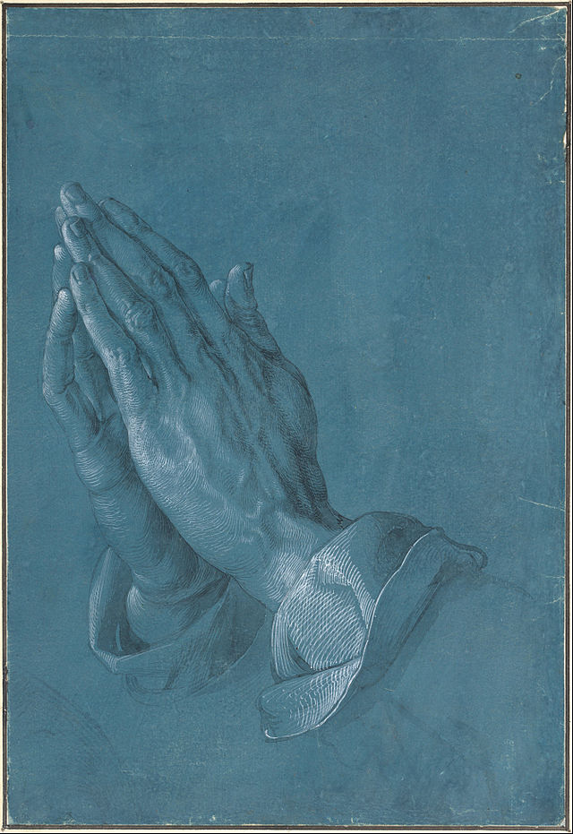 "Albrecht Dürer ""Praying Hands"""