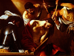 The Crowning with Thorns (Caravaggio 1602-1607, click for source)